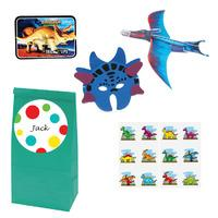 Dinosaur Theme Filled Party Bags