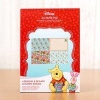 Disney Winnie the Pooh Christmas Backing Paper Pad 407512