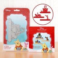 Disney Winnie the Pooh Christmas A Cosy Christmas Scene Die 407501