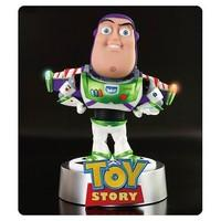 disney pixar buzz lightyear light up egg attack staue with base (japanese import)
