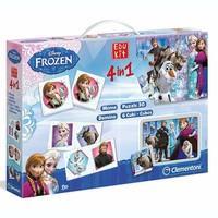 Disney Frozen - Children\'s 4 in 1 games and puzzle games - EDUKIT