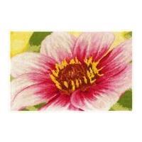DMC Pink Dahlia Counted Cross Stitch Kit
