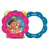 Dora The Explorer Time Teaching Clock De37
