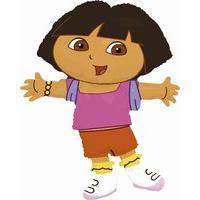 Dora The Explorer Shaped Foil Balloon