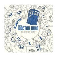 Doctor Who Colouring Book