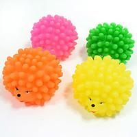 Dog Toy Pet Toys Ball Chew Toy Teeth Cleaning Toy Squeak / Squeaking Durable Thrust Halloween Rubber