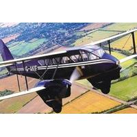 Dragon Rapide Flight over Cambridge Ely & Newmarket