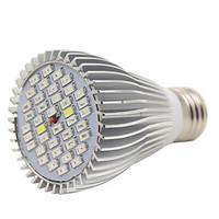 E27 40LED 22Red12Blue2White2IR2UV Full Spectrum Led Plant Grow Lamps for Garden Flowering(AC85-265V)