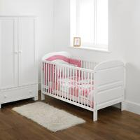 East Coast Angelina Cot Bed in White