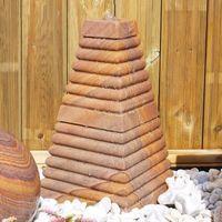 Eastern Stone Caspian Sea Pyramid Water Feature