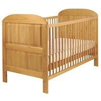 EAST COAST ANGELINA BABY & TODDLER COT BED in Antique Pine