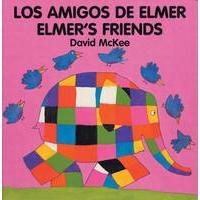 Elmer - Los amigos de Elmer / Elmer's friends (bilingual board-book)