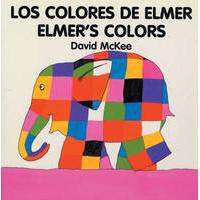 Elmer - Los colores de Elmer / Elmer's colours (bilingual board-book)