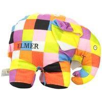 Elmer By David Mckee , Elmer Super Soft Patchwork Soft Toy, by Rainbow Designs