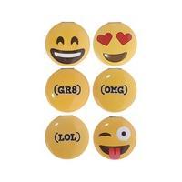 Emoji Compact Mirror - Emoji: GR8