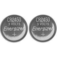 Energizer 638179 Size CR2450 Lithium Coin Cell (Pack of 2)