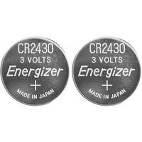 Energizer 637991 Size CR2430 Lithium Coin Cell (Pack of 2)