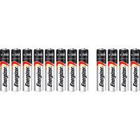 Energizer E300112200 Size AAA Alkaline Battery (Pack of 12)