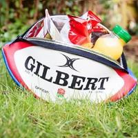 England Rugby Ball Lunch Bag