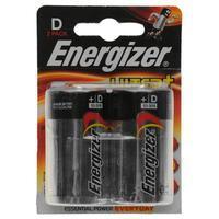 Energizer 2 Pack D Batteries