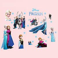 Family Wall Stickers DIY Removable Cartoon Princess Wall Decals Bedroom Living Room Wall Art