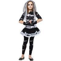 Fancy Dress - Child Bride of Frankenstein Costume