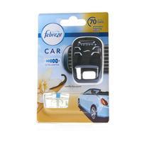 Febreze Car Air Freshener Starter Kit Vanilla Bouquet 7ml