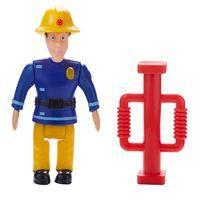 Fireman Sam Figure & Accessory - Elvis with Door Ram