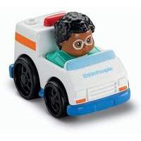 Fisher Price Little People Wheelies White Ambulance