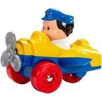 Fisher-Price Little People Wheelies - Yellow Aeroplane