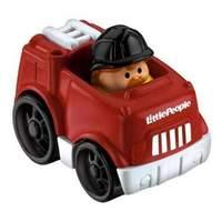 Fisher Price Little People Wheelies Red Fire Truck