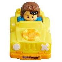 Fisher - Price Little People Wheelies - Yellow (bhv04)