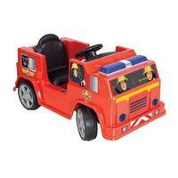 Fireman Sam 6V Battery Operated Jupiter Ride On