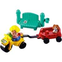 Fisher-Price World of Little - People Trike & Wagon
