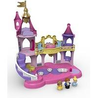 Fisher-Price Toy Disney Princess Little People Musical Dancing Palace, Belle Cinderella Figure