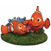 Finding Nemo Aquarium Ornament Nemo & Marlin