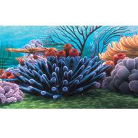 Finding Nemo Coral Reef Aquarium Background 60 x 40cm (23.5 x 15.75 inches)