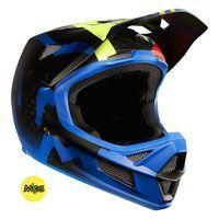 Fox Rampage Pro Carbon MIPS Full Face MTB Helmet Blue
