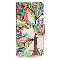 For Samsung Galaxy S7 Edge Wallet / Card Holder / with Stand / Flip Case Full Body Case Tree PU Leather Samsung S7 edge / S7