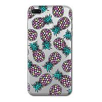 For iPhone 7 Plus 7 Case Cover Transparent Pattern Back Cover Case Tile Fruit Soft TPU for iPhone 6s Plus 6s 6 Plus 6 5s 5 SE
