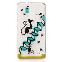 For Lenovo K5 Note K3 A2010 Case Cover Cartoon Cat Pattern Back Cover Soft TPU