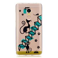 For Xiaomi Redmi Note 4 Note 3 Case Cover Cartoon cat Pattern Back Cover Soft TPU Redmi Note