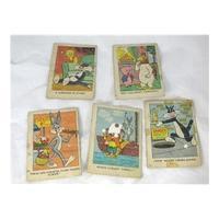 Four Looney Tunes Warner Bros Postcard Jigsaws