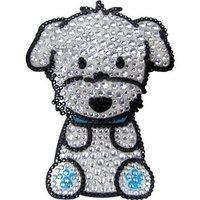 Foufou Dog Maltese Boy Rhinestone Sticker