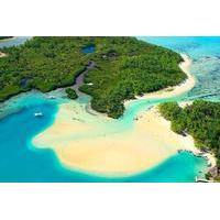 Full-Day Catamaran Cruise in Mauritius: Ile aux Cerfs, GRSE Waterfall and Snorkeling in Eau Bleue