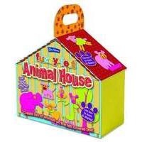 Fuzzy Felt Animal House Craft Kit