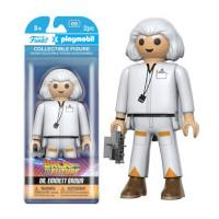 Funko x Playmobil: Back to the Future - Doc Action Figure