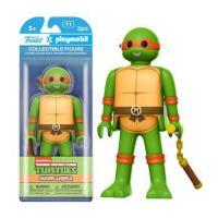 Funko x Playmobil: Teenage Mutant Ninja Turtles - Michelangelo Action Figure