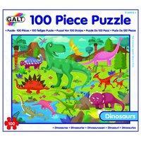 Galt Toys Dinosaurs Puzzle (100-piece, Multi-colour)