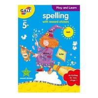 Galt Toys Home Learning Books Spelling With Reward Stickerss